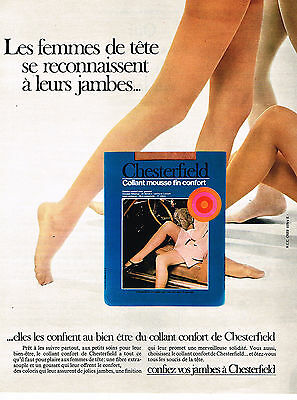 Other Breweriana Collectibles Publicite Advertising 014 1969 Chesterfield Bas & Collants