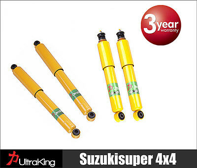 4 Nissan Navara 4WD D22 Ute Gas Shock Absorbers 4x41997-2010 New Replacement