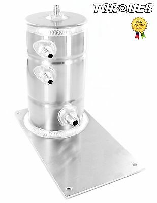 AN-6 / AN-8 JIC 1.5 Litre Fuel Swirl Pot Tank For Direct To Bosch 044 Mounting