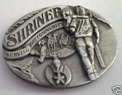 SHRINER   (Pewter)  Hat Pin P00734 EE