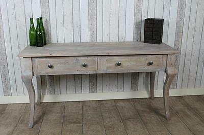 Large 9Ft Limed Reclaimed Pine Sideboard Side Console Table The Florence