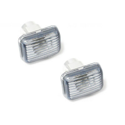 Land Rover Discovery Clear White Side Repeaters Indicators Lights Lenses Lens