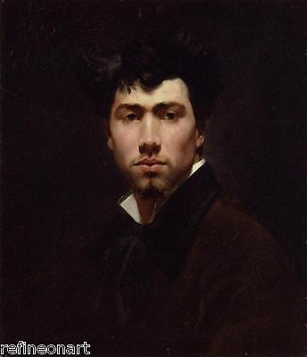 Handmade Oil Painting repro Giovanni Boldini Portrait of a Young Man
