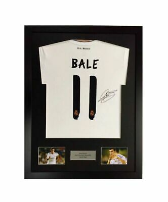 Frame For Any Signed Football Shirt & any 2 photos