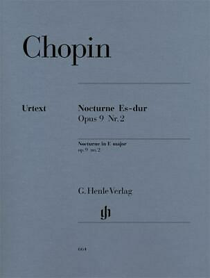 Frederic Chopin: Nocturne In E Flat Op.9 No.2 (Urtext Edition) Piano Sheet Music