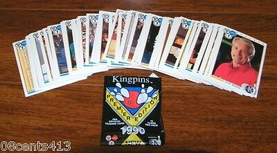 Kingpins Premier Edition 1990 PBA Official Trading Cards 100 Cards Included