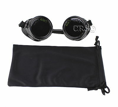Dark #11 Welding Goggles Glasses ARC MIG TIG Gas Plasma Cutting Grind Steampunk