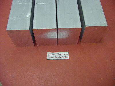 """100 Pieces 1/2"""" X 1/2"""" ALUMINUM 6061 SQUARE BAR 2.5"""" long .500"""" Solid Mill Stock"""