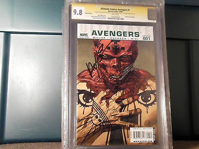 Ultimate Comics Avengers #1  Variant Cgc 9.6 Ss 3X Mark Millar Carlos Pacheco