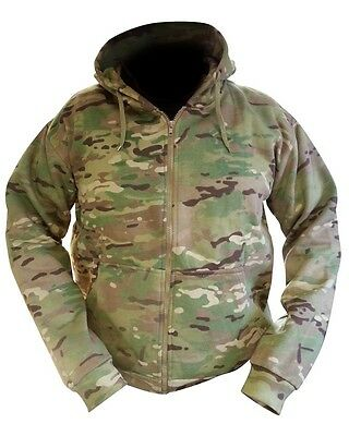 Multicam / MTP Match Zipped Camo Hoodie All Sizes Military / Hunting Warm Jacket
