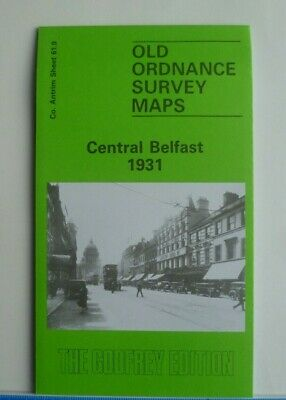 Old Ordnance Survey Map Central Belfast Co. Antrim  1931 Sheet 61.9 Brand New