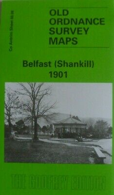 Old Ordnance Survey Map Belfast Shankill Co Antrim  1901 Sheet 60.08 Brand New