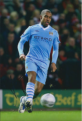 Nigel DE JONG Signed 12x8 Photo AFTAL COA Autograph Man City Premier League