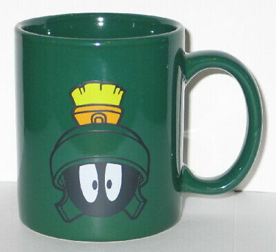 Looney Tunes Marvin the Martian Face Ceramic Coffee Mug, NEW UNUSED