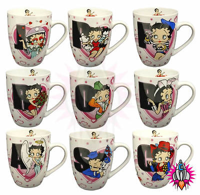 Betty Boop Letter Alphabet Mug Coffee Cup New & Official In Gift Box