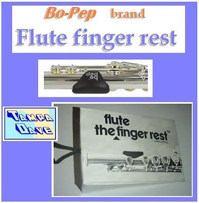 Bo-Pep Flute Finger Rest helps accuracy, balance  *NEW