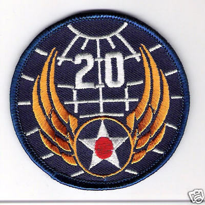 MILITARY PATCH-U.S.ARMY AIR FORCES 20th AIR FORCE