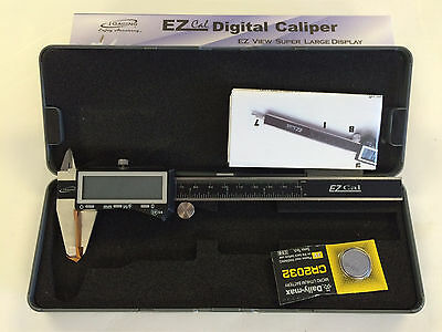 "6"" IP54 3-Way Reading 0-6"" Digital Caliper, 100-333-8, iGaging, Inch/Metric/Frac"