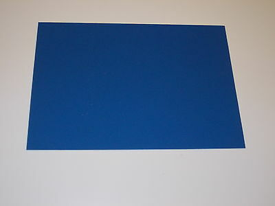 1 mm A4 KYDEX T Sheet 297 mm x 210 mm (P-1 HAIRCELL BLUE) Holster Sheath etc.