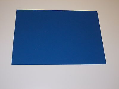 Kydex T Sheet 297 X 210 X 1Mm A4 Size (P-1 Haircell Blue)