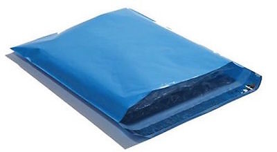 200 10x13 BLUE Poly Mailers Shipping Envelopes Couture Boutique Shipping  Bags