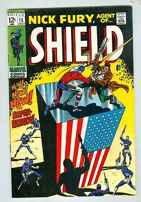 Nick Fury, Agent of SHIELD #13 July 1969 FN-