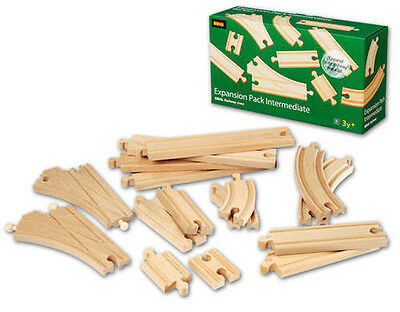 BRIO EXPANSION PACK 1 Wooden Train Engine Thomas compatible NEW 33402