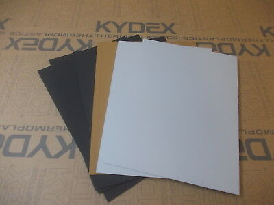 7 Pack 1.5 mm A4 KYDEX T Sheet 297 X 210 3 Black 2 Coyote 2 Grey,Holster-Sheath.