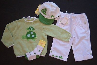 Gymboree New Turtle Crossing Denim Hat 3-6 Months NWT