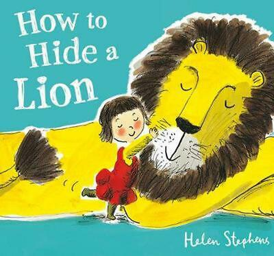 How to Hide a Lion by Helen Stephens (English) Hardcover Book Free Shipping!