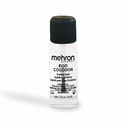 Mehron Rigid Collodion Scar Scarring Liquid Tv Movie Special Effect Stage Makeup