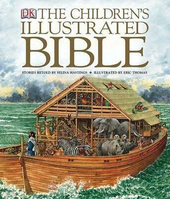 The Children's Illustrated Bible by DK Publishing Hardcover Book (English)