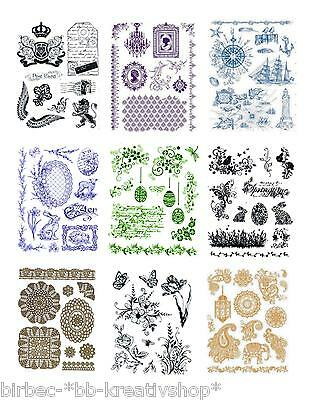 VIVA DECOR Clear Stamps MY PAPER WORLD Silikon Stempel OSTERN + DIVERSE MOTIVE
