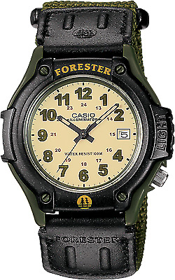 NEW Casio FT500WVB-3B Men's Forester Analog Illuminator Sports Watch