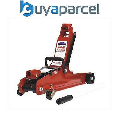 Sealey 1020LE Trolley Jack 2tonne Low Entry 86mm to 380mm Heavy Duty
