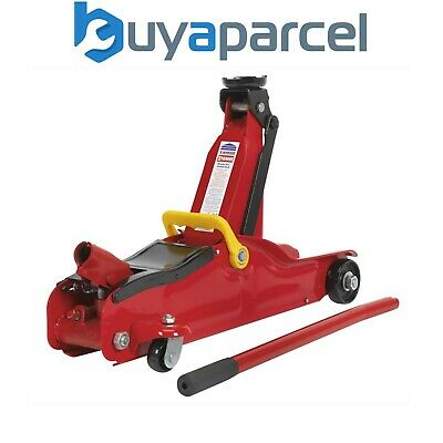 Sealey 1050CXLE Trolley Jack 2tonne Low Entry 78mm to 330mm Short Chassis