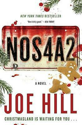 NOS4A2 by Joe Hill (English) Paperback Book Free Shipping!