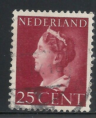 Netherlands 1940 NVPH Plate Error 341P white point  CANC  VF