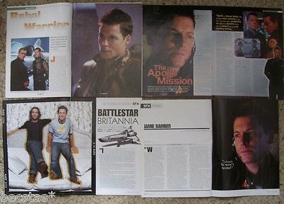 JAMIE BAMBER x 10 ** SEXY ** CLIPPINGS PACK # 1