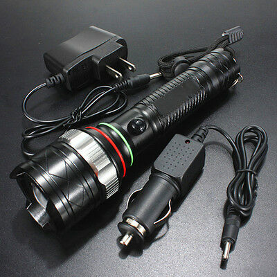 2500LM UltraFire Rechargeable CREE XM-L T6 LED 18650 Flashlight Torch w/ Charger