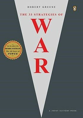 The 33 Strategies of War (Joost Elffers New Paperback Book) by Robert Greene