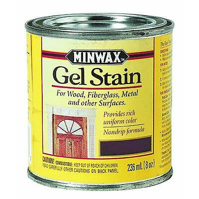 Minwax Gel Stain 1/2 pint (8oz) CHOICE OF COLORS New