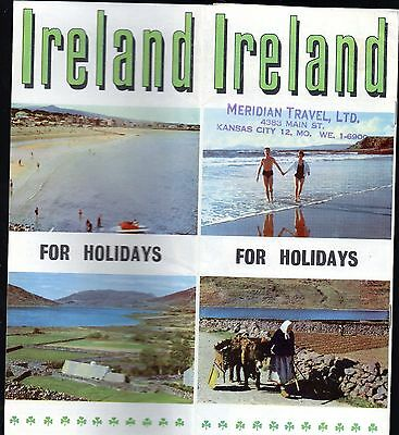 Ireland For Holidays Travel Brochure 1950s