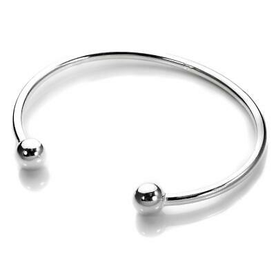 Solid 925 Sterling Silver Torque Bangle Baby, Maiden & Adult Ladies