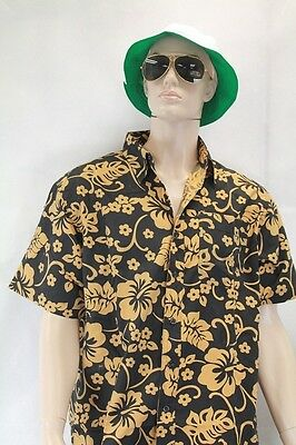 d8b45e46751 Fear and Loathing Las Vegas costume Shirt Hat Green Sunglasses Cigarette  Holder