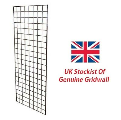 1 Panel Gridwall Mesh Chrome Retail Shop Display Grid One Panel Hanging New
