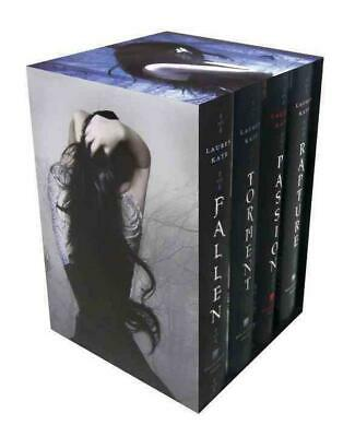 The Fallen Series Boxed Set by Lauren Kate Hardcover Book (English)