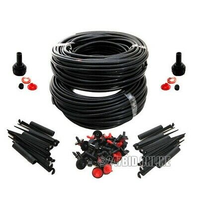 46M Micro Irrigation Watering Kit Automatic Garden Plant Greenhouse Water System