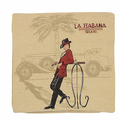 "Wholesale Job Lot 10x Cushion Covers Designer ""La Habana"" Tapestry 18"" (45cm)"