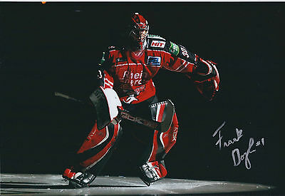 Frank DOYLE Sheffield Steelers Ice Hockey Signed Autograph Photo AFTAL COA AHL